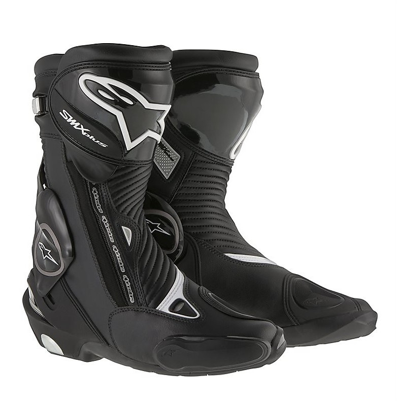 Stiefel Smx plus new 2015 Schwarz Alpinestars