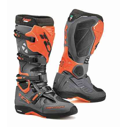 Stiefel Tcx Comp EVO 2 Michelin Dunkelgrau-Orange Fluo Tcx