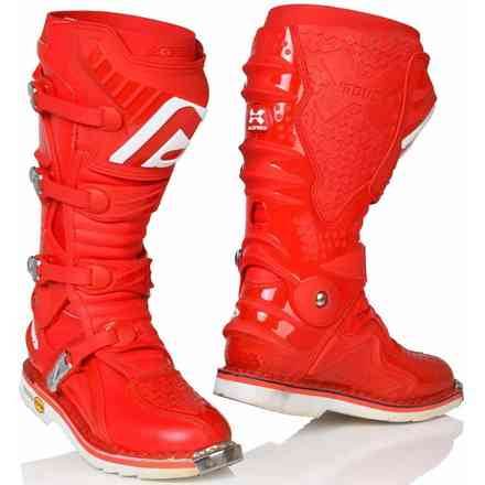 Stiefel X-Move 2.0 Rot Acerbis