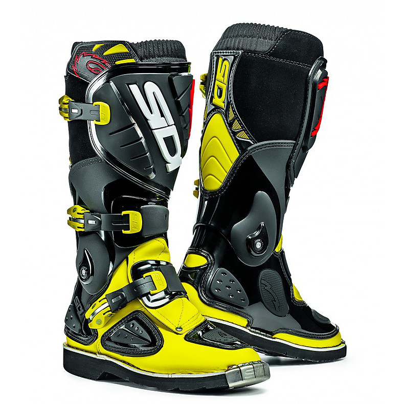 Stinger yellow fluo-black young Boots Sidi