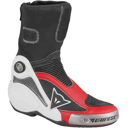 Stivale Axial Pro In nero-rosso Dainese
