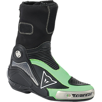 Stivale Axial Pro In nero-verde fluo Dainese
