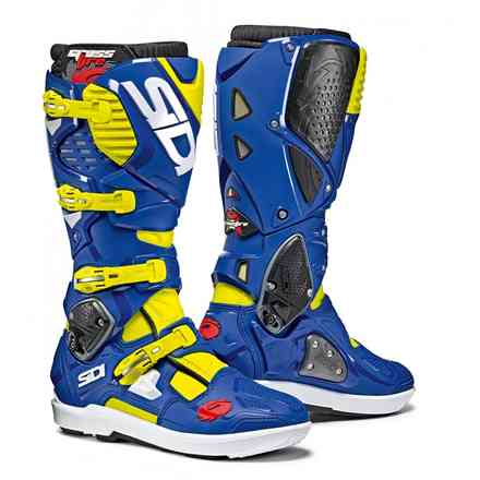 Stivale Crossfire 3 Srs boots yellow fluo blue Sidi