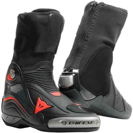 Stivali Axial D1 Air nero rosso fluo Dainese