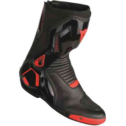 Stivali Course D1 out Air nero rosso fluo  Dainese