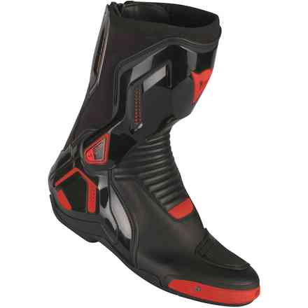 Stivali Course D1 out nero rosso fluo Dainese