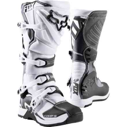 Stivali Fox Racing  Comp 5 Boot Bianco Fox