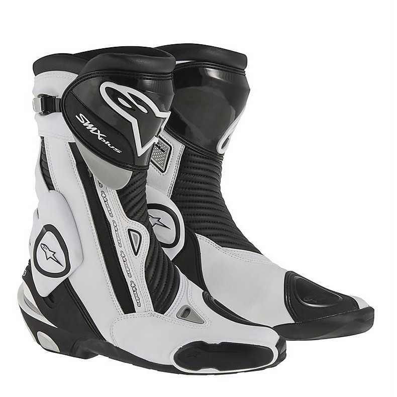 Stivali Smx plus new 2015 nero-bianco Alpinestars