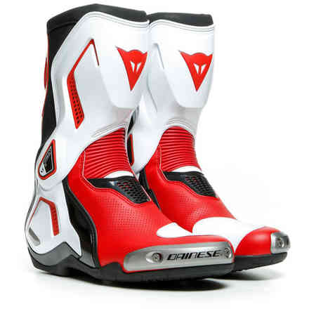 Stivali Torque 3 Out Air nero-bianco-rosso Dainese