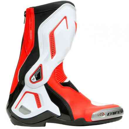 Stivali Torque 3 Out Lady Blk/Wht/Fluo-Red Dainese