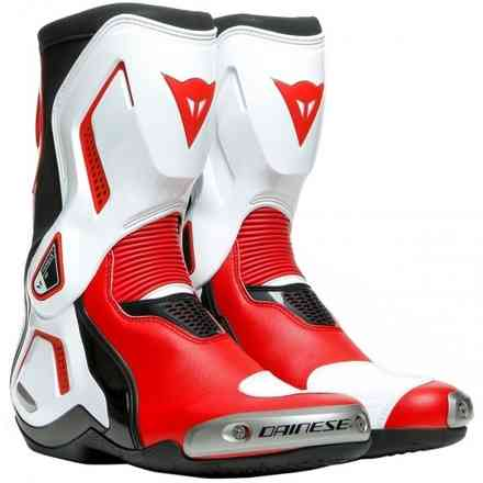 Stivali Torque 3 Out nero-bianco-rosso Dainese