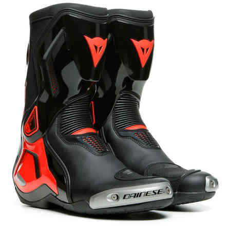 Stivali Torque 3 Out nero-rosso fluo Dainese