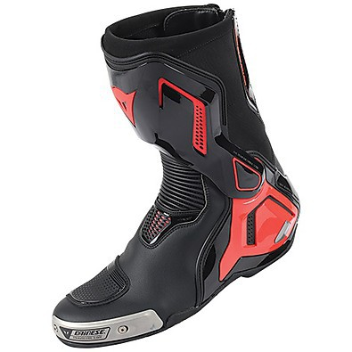 Stivali Torque D1 out nero-rosso fluo Dainese