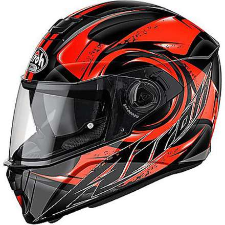 Storm Anger Helmet  orange Airoh