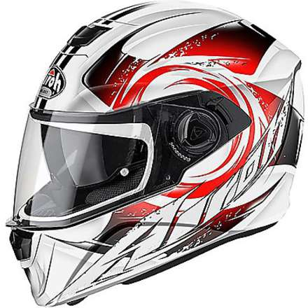 Storm Anger Helmet  red Airoh