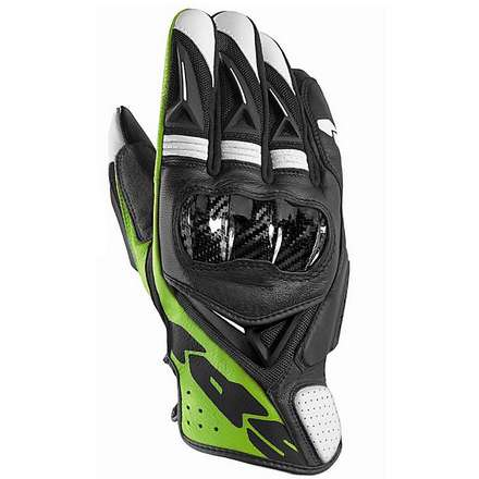 STR 3 Vent Coupe Gloves black-green Spidi
