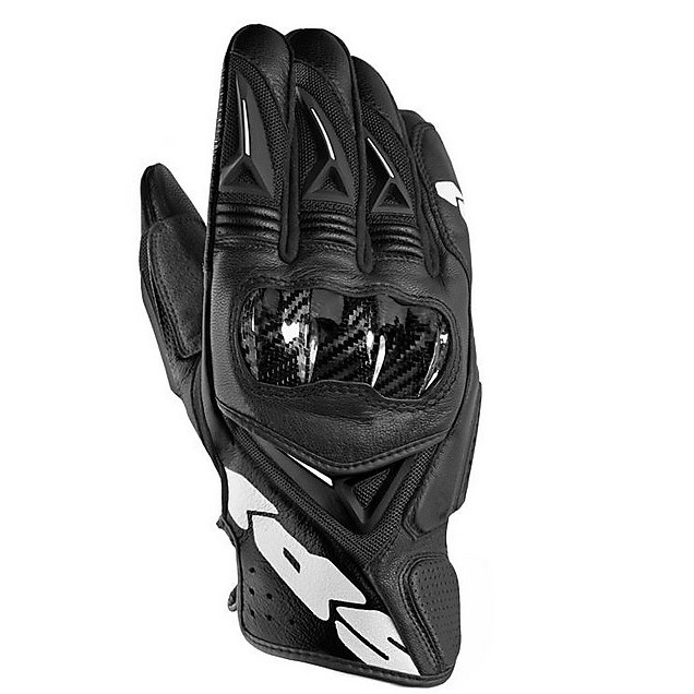 STR 3 Vent Coupe Gloves black-white Spidi