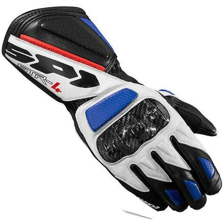 Str-4 black-blue-red Gloves Spidi