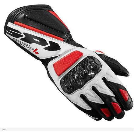 Str-4 black-red Gloves Spidi