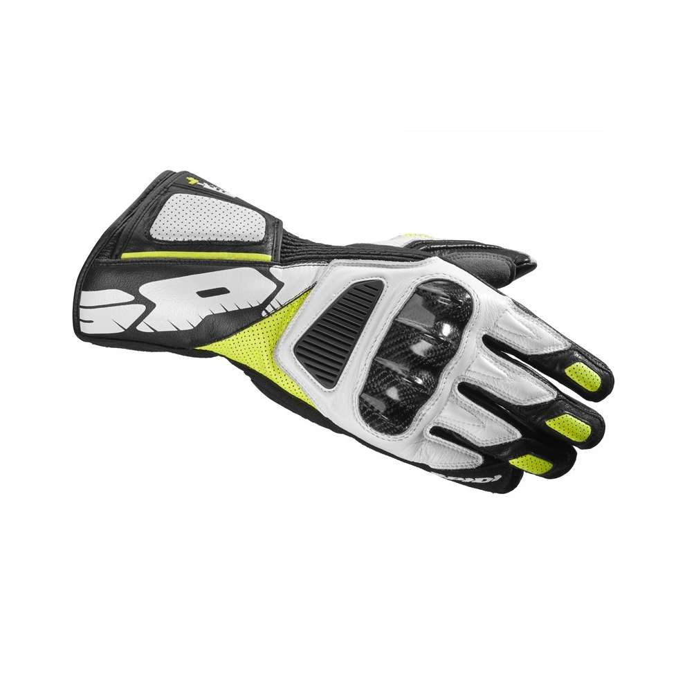 Str-4 Vent black-yellow-white Gloves Spidi