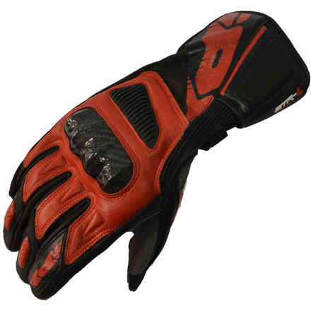 Str-4 Vent red black Gloves Spidi