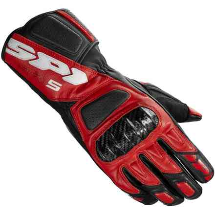 Str-5 black red Gloves Spidi