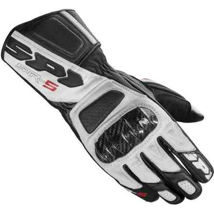 Str-5 black white Gloves Spidi