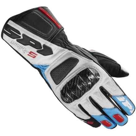 Str-5 Gloves red blue Spidi