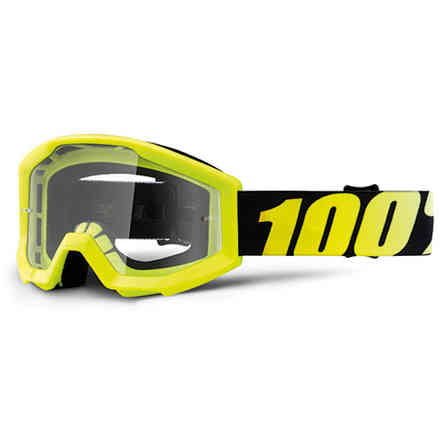 Strata Junior Mask Neon 100%