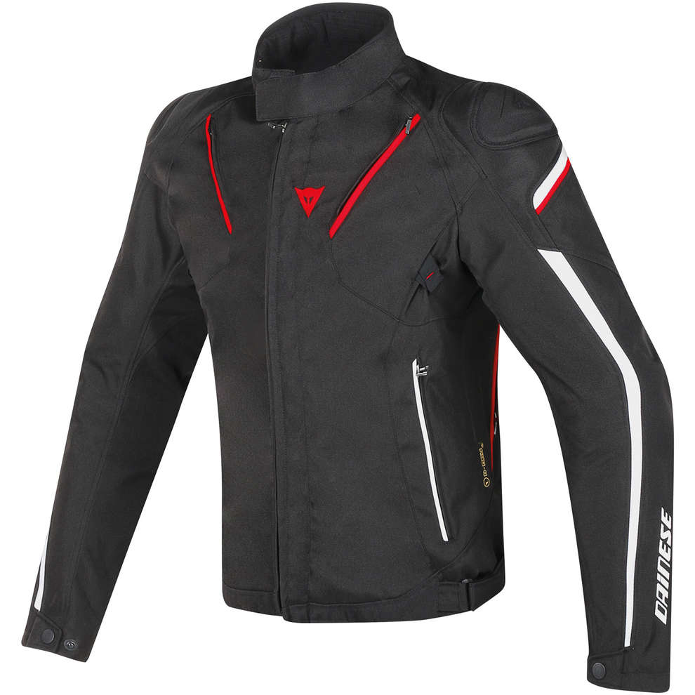 Stream Line D-dry jacket black white red Dainese