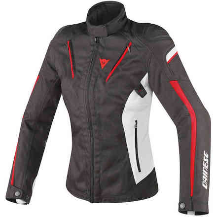 Stream Line Lady jacket black gray red Dainese