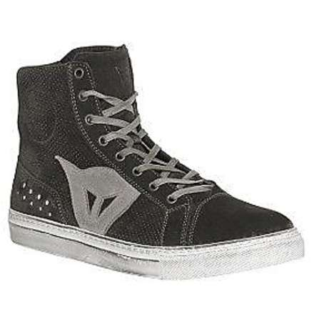 Street biker Air shoes black-grey Dainese