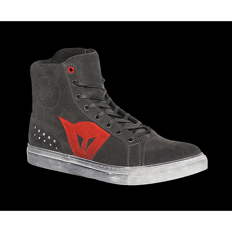 Street biker Air shoes carbon-red Dainese