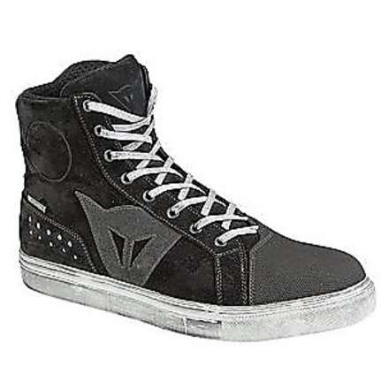 Street biker d-wp lady  shoes black-grey Dainese