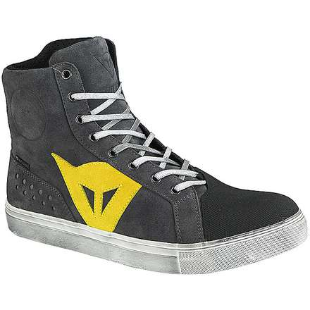 Street biker d-wp  shoes anthracite-yellow Dainese