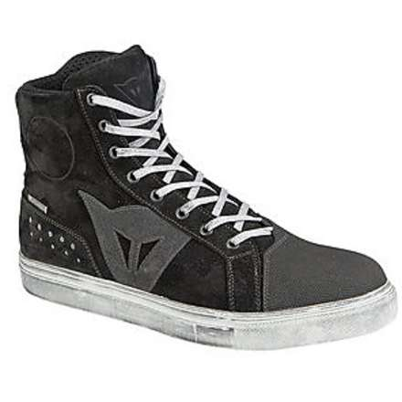 Street biker d-wp  shoes black-grey Dainese