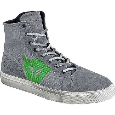 Street biker d-wp  shoes grey-green Dainese