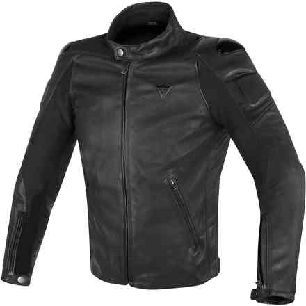 Street Darker leather jacket black Dainese