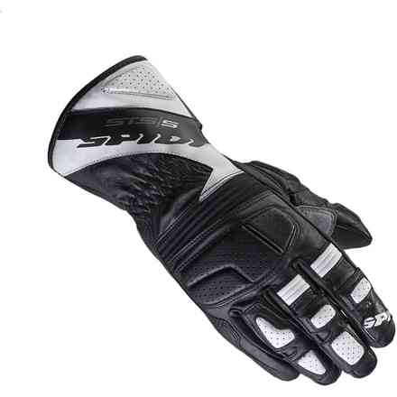 Sts-S black white Gloves Spidi