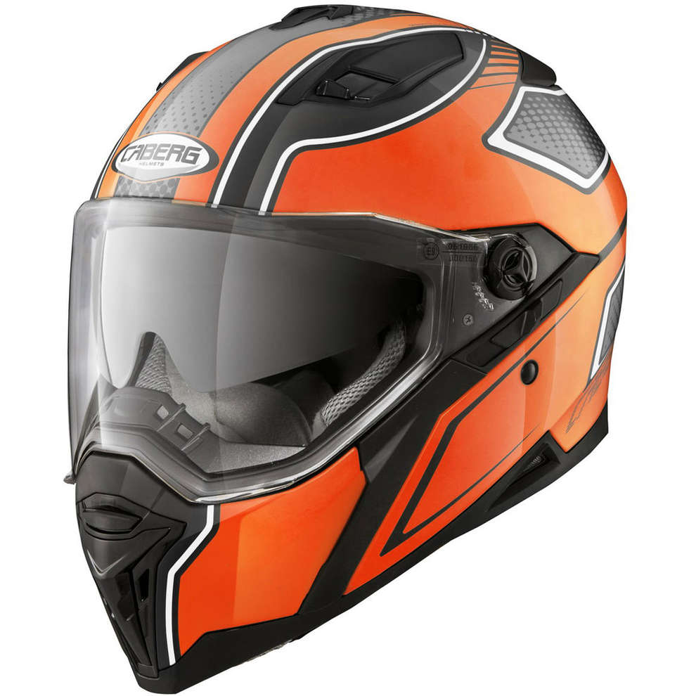 Stunt Blade Helmet black-orange Caberg