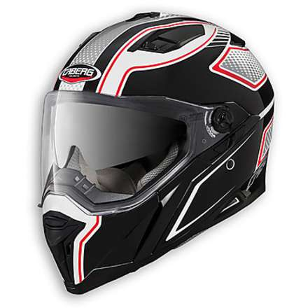 Stunt Blade Helmet white-black-red Caberg