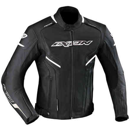 Stunter jacket black white Ixon