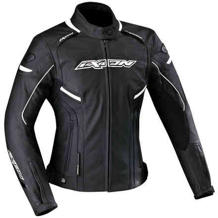 Stunter Lady jacket black white Ixon
