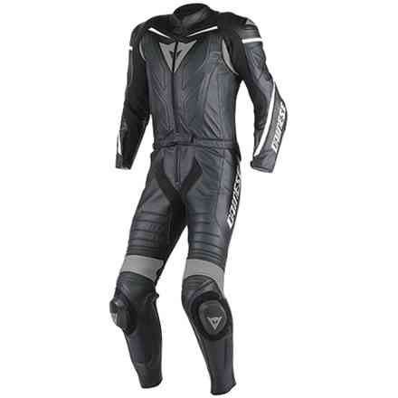 Suit Laguna Seca D1 2 pieces black-anthracite traforated Dainese