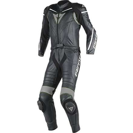 Suit Laguna Seca D1 2 pieces black-anthracite Dainese