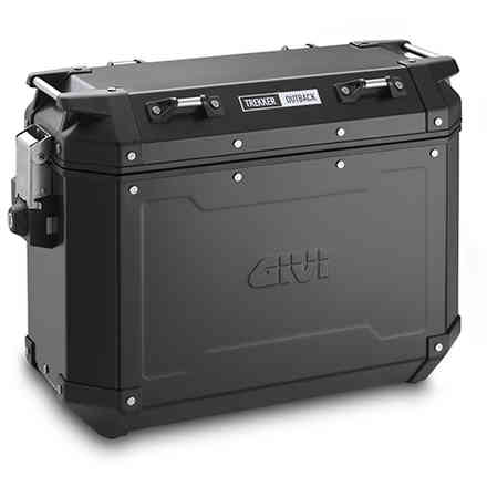 Suitcase Left side 37lt Trekker Outback black Givi