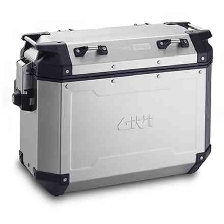 Suitcase Right side 37 Lt. OBK New Aluminum Givi