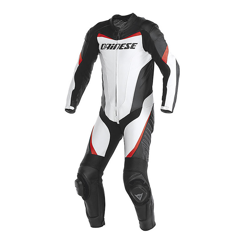 SUMMER TRAINING SUIT RACING WHITE-RED NEON Dainese