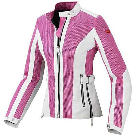 Summernet Woman Jacket pink Spidi