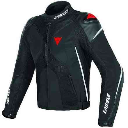 Super Rider D-Dry Jacket black white red Dainese